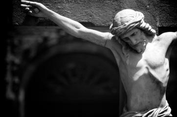 Crucifixion Statue